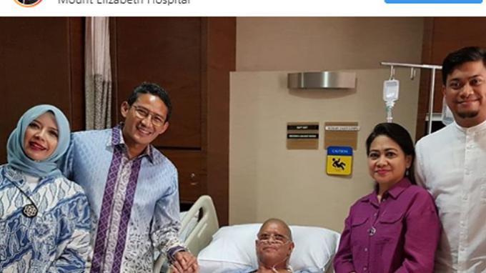 Melalui posting-annya pada akunnya di Instagram @sandiuno, Sandiaga Uno menyebut Ichsan Yasin Limpo sebagai sahabatnya.