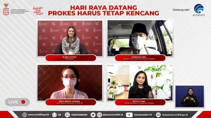 Sandiaga Uno Ajak Elemen Bangsa Laksanakan Prokes Ketat Saat Idul Fitri