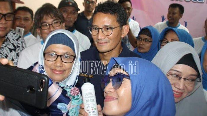 Jadi Jurkam Nasional Gerindra, Akankah Sandiaga Uno Kampanyekan Machfud Arifin di Surabaya?
