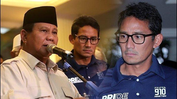 TERUNGKAP Penyebab Wajah Sandiaga Uno Kusut saat Pengumuman Pilpres: Diusir Prabowo? Ini 7 Faktanya