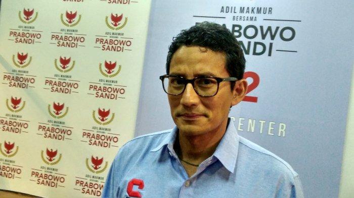 Sandiaga Uno, Dulu Rival Jokowi di Pilpres 2019, Kini Jadi Juru Kampanye Putra-Menantu sang Presiden