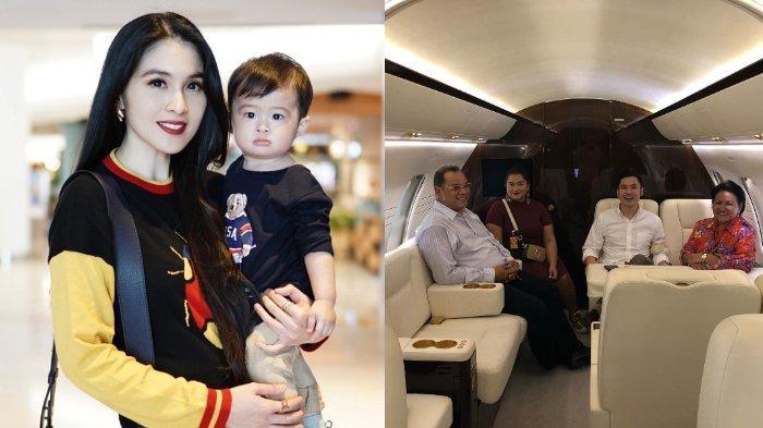 Usianya Baru Genap Setahun, Anak Sandra Dewi Sudah Dibelikan Jet Pribadi