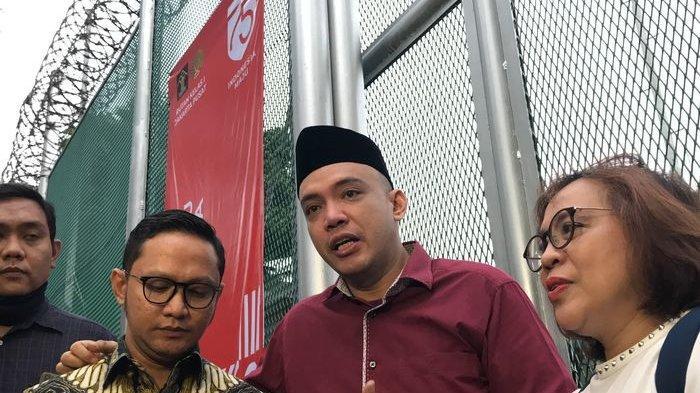 Sandy Tumiwa saat ditemui tim Grid.ID di jumpa pers kebebasannya di Rutan Salemba, Jakarta Pusat, (30/7/2020).
