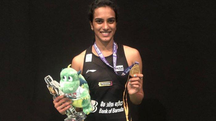 Sang juara dunia tunggal putri 2019, Pusarla V. Sindhu