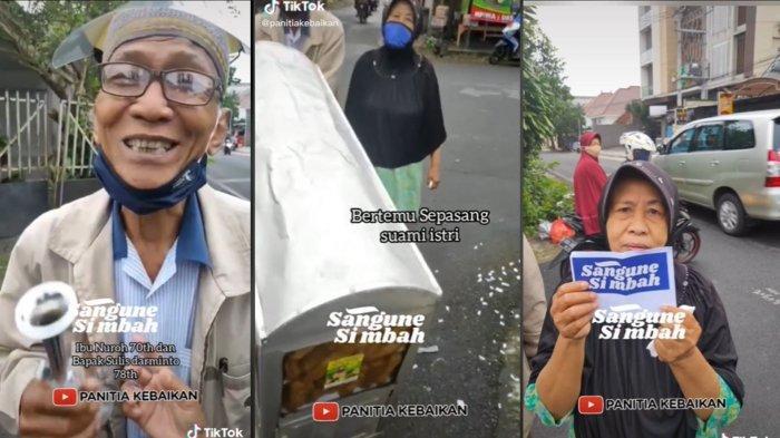 Mengenal Panitia Kebaikan yang Viral di TikTok karena Bagikan Donasi untuk Para Lansia di Malang