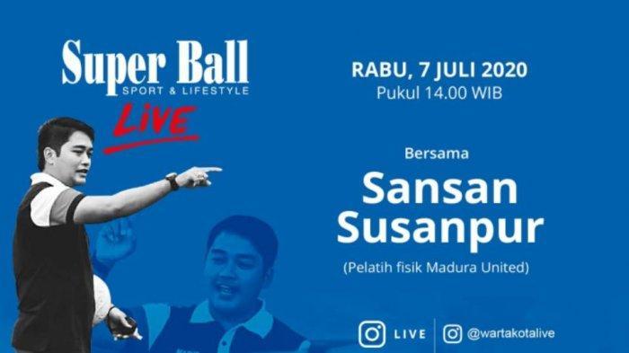 Ikuti Pelatih fisik ternama di Indonesia, Sansan Susanpur Bakal Berbagi Tip TIngkatkan Fisik