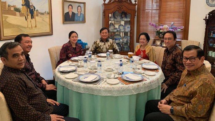 Santap Siang Megawati dan Prabowo