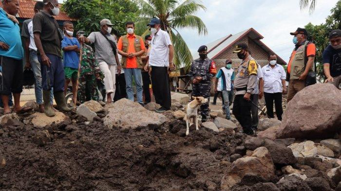 Siklon tropis Seroja yang menerjang kawasan Provinsi Nusa Tenggara Timur (NTT) masih menyisakan korban hilang. Tim SAR meningkatkan upaya pencarian korban dengan melibatkan SAR dog.