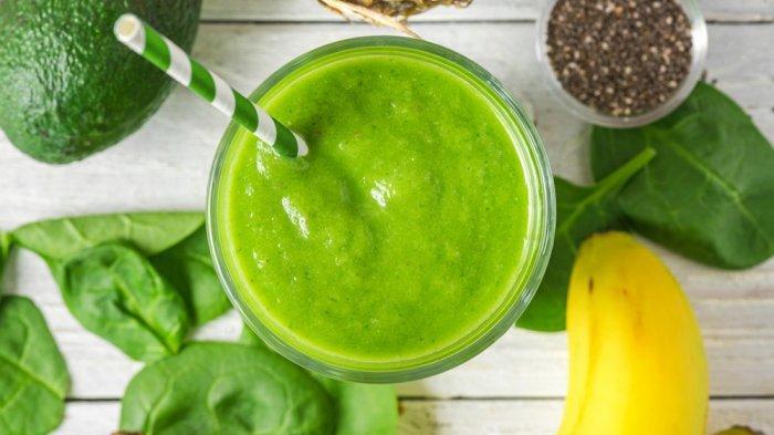 Green smoothies, salah satu menu sarapan untuk tubuh ideal 2021.