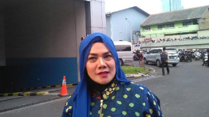 Sarita Abdul Mukti saat dutemui di Gedung Trans TV, Jakarta, Selasa (22/5/2018).