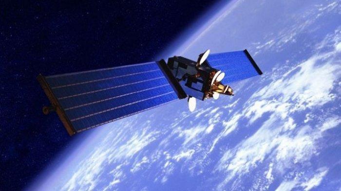 Satelit di Ruang Angkasa