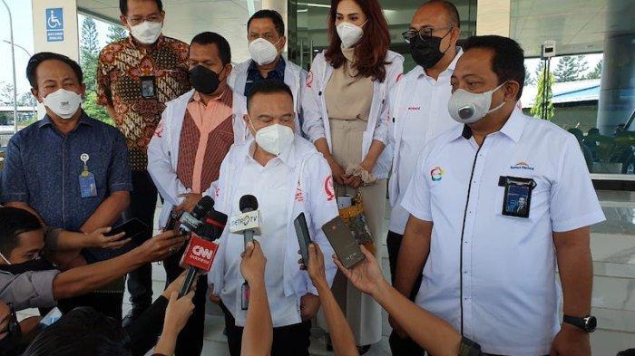 Sidak ke PT Kimia Farma di Bandung, Dasco Bawa Kabar Baik untuk Rakyat Indonesia