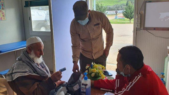 Satgas Indobatt Beri Pelayanan Kesehatan Bagi Masyarakat Lebanon Selatan