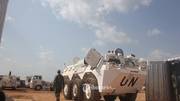 Satgas Kizi TNI di Afrika terima Ranpur Anoa