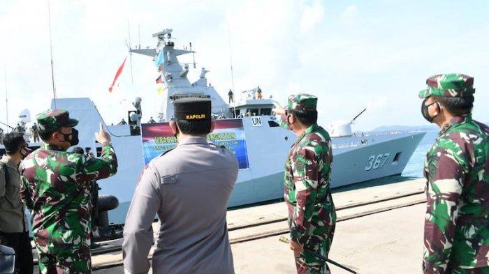 KRI Sultan Iskandar Muda-367 ke Lebanon Latih AL Lebanon dan Cegah Senjata Ilegal Masuk Lebanon