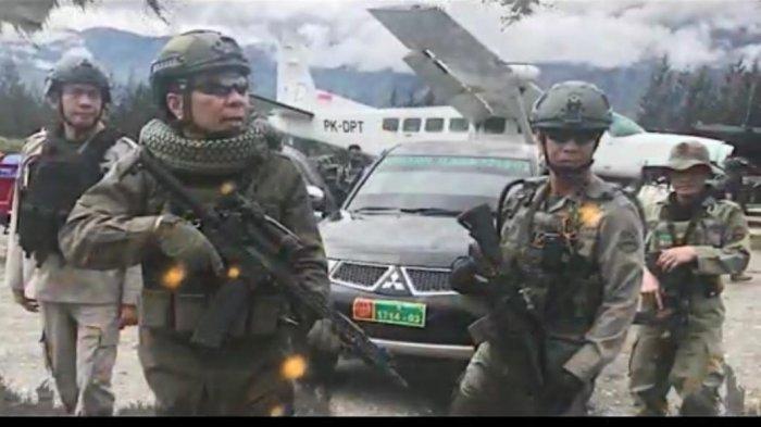 300 Personel Bersiaga di Mapolres Yahukimo Pasca Penetapan 4 Tersangka Kasus Pembunuhan Pekerja