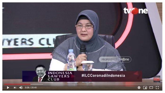 Di ILC, Erlina Burhan Blak-blakan Prediksikan 'Nasib' 2 WNI Positif Corona: Bukannya Mendahului