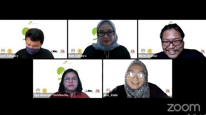 Webinar Pelatihan Psikososial dan Trauma Healing Bagi Tenaga Pendidik yang diselenggarakan oleh Cetta Satkaara dan Rumah Guru BK (RGBK) pada Sabtu, 10 April 2021, menghadirkan pemateri Christina Dumaria Sirumapea M.Psi.,Psikolog, Psikolog Klinis Dewasa dan Associate Assessor di TigaGenerasi serta Ana Susanti, M.Pd, Founder RGBK dan Widyaiswara di Kemendikbud RI. Webinar ini diikuti oleh 200 guru terpilih setingkat SD, SMP dan SMA Sederajat di seluruh Indonesia.