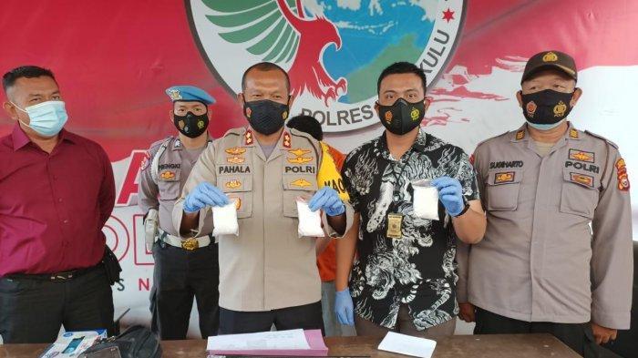 Amankan Bandar Narkoba, Satuan Narkoba Polres Bengkulu Temukan Inex dan 300 Gram Sabu dari  Aceh