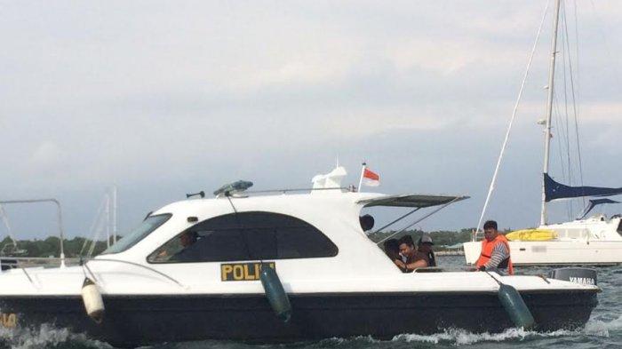 Jelang Natal dan Tahun Baru Satpolair Denpasar Sisir Perairan Pulau Serangan
