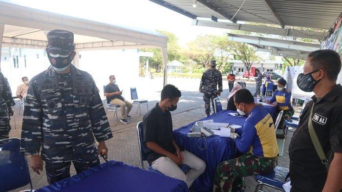 Satlinlamil 2 Surabaya Siapkan 500 Dosis Vaksin Untuk Serbuan Vaksinasi Maritim TNI AL