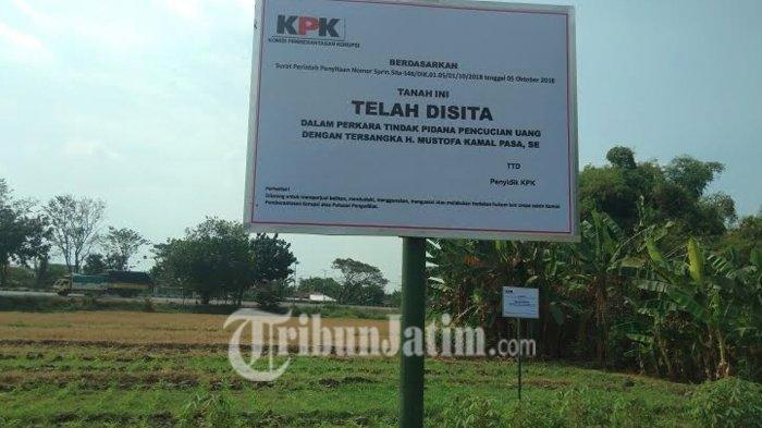 Diduga Diperoleh dari Pencucian Uang, Rumah Orangtua dan Sawah Bupati Mojokerto non Aktif Disita