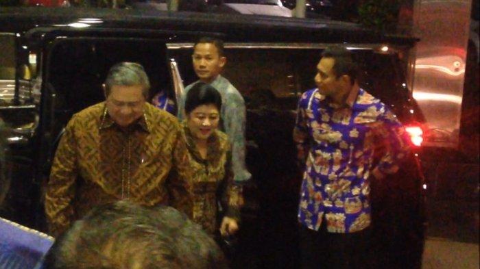 Agus Yudhoyono Hadiri Perayaan Natal Nusantara Partai Demokrat