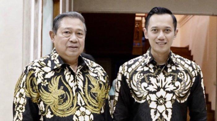 Susilo Bambang Yudhoyono (SBY) dan Agus Harimurti Yudhoyono (AHY)