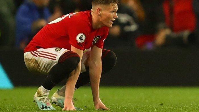 Scott McTominay cedera saat Manchester United menjamu Newcastle