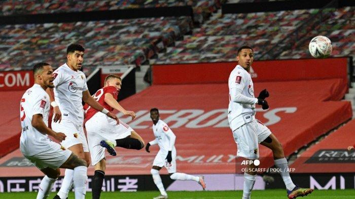 Hasil MU vs Watford Babak 1 Piala FA: Setan Merah Unggul 1-0, McTominay Perintis Gol