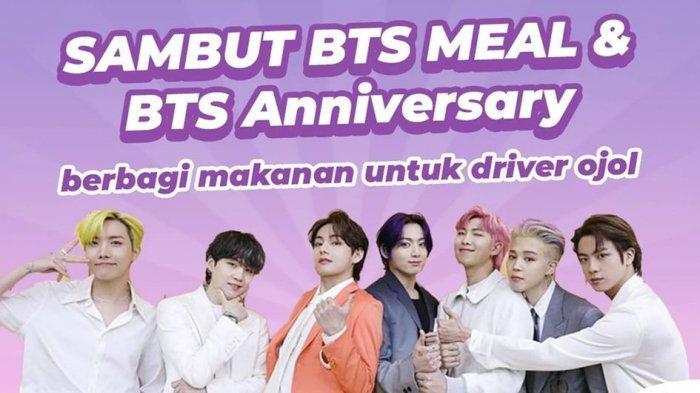 Donasi Ratusan Juta Rupiah untuk Driver Ojol, BTS ARMY Indonesia: Terima Kasih Sudah Menjadi Pahlawan