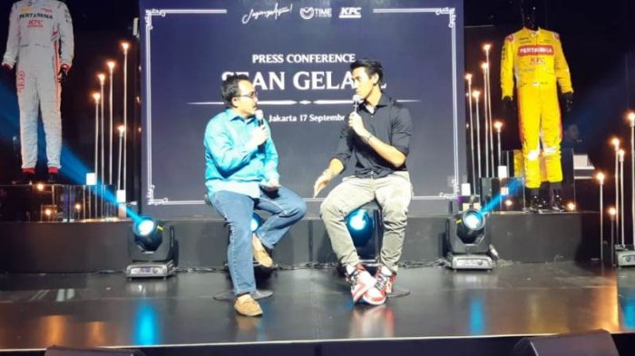 Sean Gelael Peduli Korban Gempa Lombok