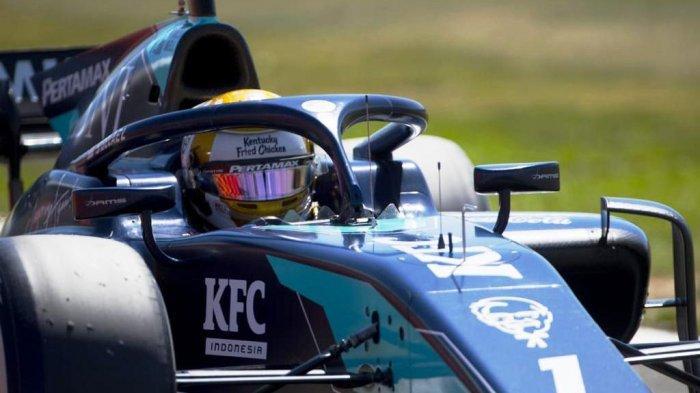 Nasib Kurang Beruntung Kembali Menerpa Sean Gelael di Sirkuit Silverstone