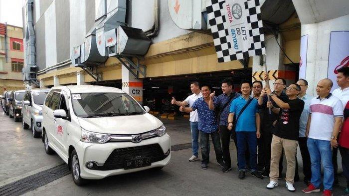 Seratusan Avanza dan Veloz Konvoi Keliling Kota Medan, Ada Apakah?