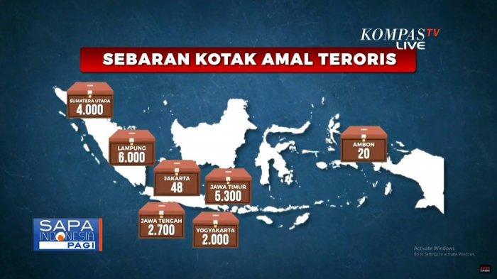 Polisi Sebut Teroris Sebar Lebih dari 20 Ribu Kotak Amal di 12 Wilayah untuk Danai Aksi