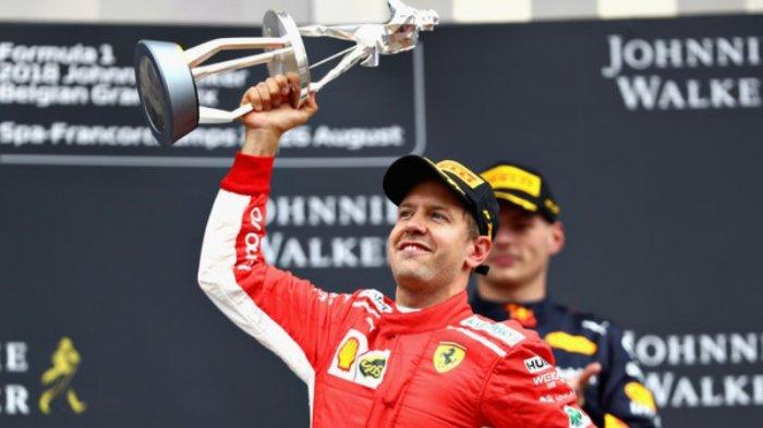 Ferrari Musim Balap 2021 Bakal Tidak Diperkuat Sebastian Vettel