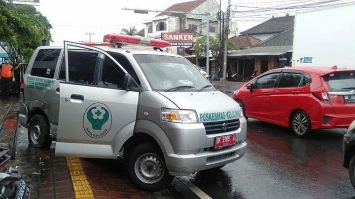 KRONOLOGI Kecelakaan Ambulans vs Suzuki X-Over di Denpasar yang Bawa 3 Pasien Covid-19