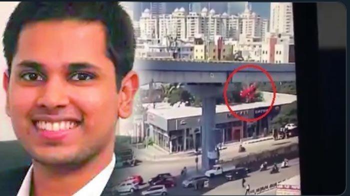 Video Viral Mobil Terjun Bebas dari Flyover dan Timpa Halte Bajaj, Begini Kondisi Sang Pengemudi