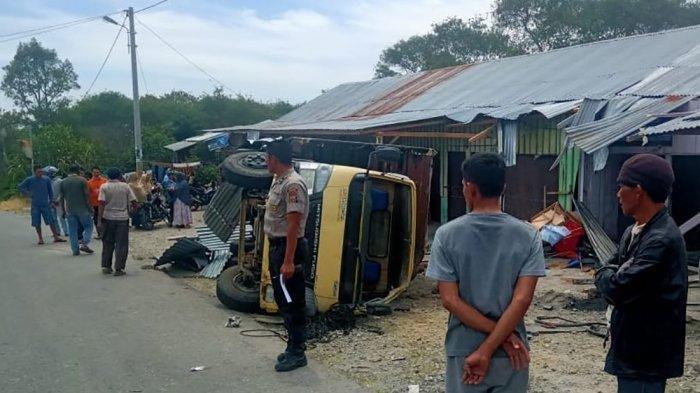 Balita Kabupaten Bener Meriah Aceh Tewas Terjepit Truk, Diawali Kecelakaan Tunggal