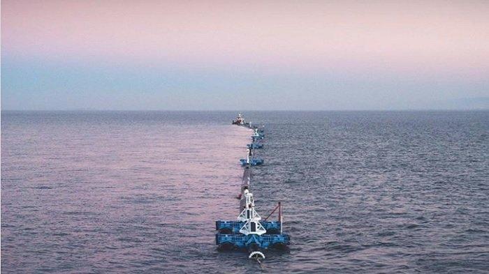 Pipa Raksasa Bernama 'Wilson' Ini Siap Bersihkan Sampah Plastik Samudera Pasifik