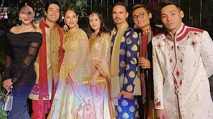 BCL hingga Luna Maya Hadiri Royal Wedding Anak Raja Sinetron Raam Punjabi, Intip Penampilannya