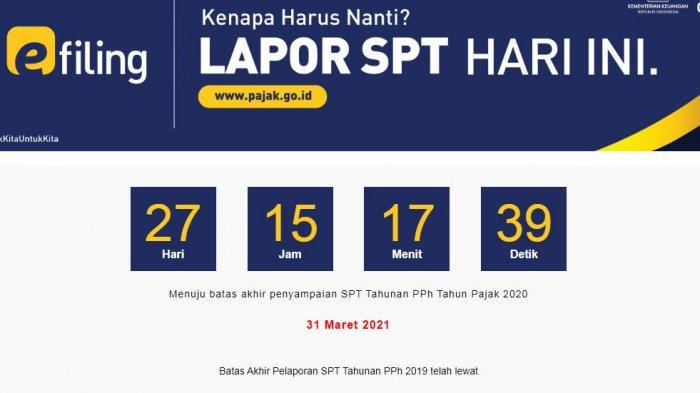 Jokowi Ajak Wajib Pajak Segera Lapor SPT Tahunan, Berikut Cara Lapor Pajak Secara Online