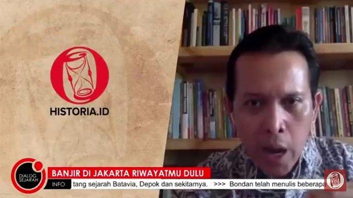 Sejarawan UI Ungkap Banjir di Jakarta Sudah Terjadi Sejak Zaman Kerajaan Tarumanegara