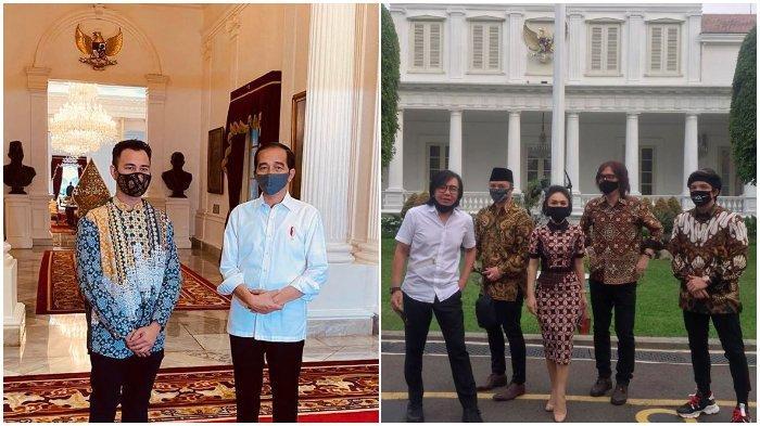 Raisa hingga Raffi Ahmad, Lihat Gaya Seleb saat Diundang Jokowi Bahas Sosialisasi Protokol Kesehatan