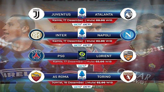 JADWAL Siaran Langsung Liga Italia Malam Ini: Genoa vs AC Milan, Laga Juventus & Inter Live di RCTI