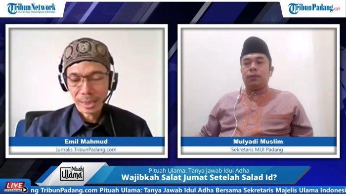 Sekertaris Majelis Ulama Indonesia (MUI) Padang, Mulyadi Muslim