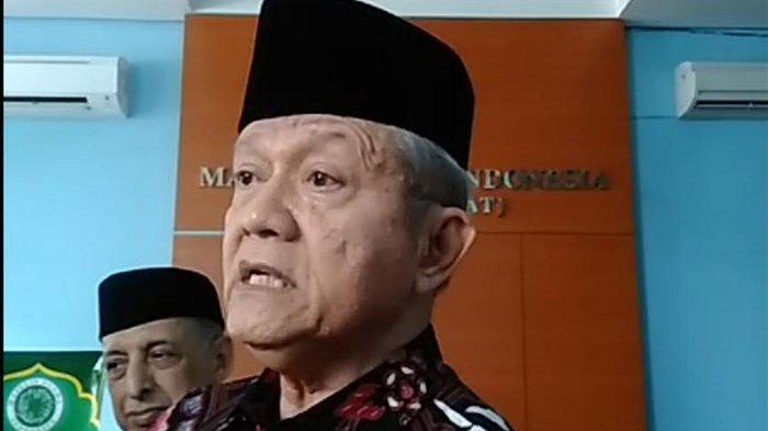 Sekretaris Jendral Majelis Ulama Indonesia (Sekjen MUI), Anwar Abbas saat ditemui di Kantor Pusat MUI.