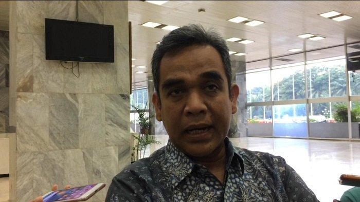 Sekjen Partai Gerindra Ahmad Muzani  di Kompleks Parlemen, Senayan, Jakarta, Selasa (13/11/2018).