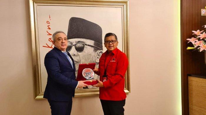 Ingin Tingkatkan Hubungan dengan Indonesia, Dubes Georgia Sambangi Markas PDIP