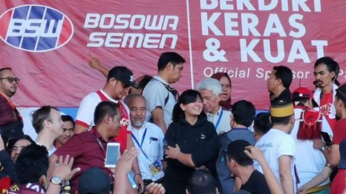 Kata Ratu Tisha Soal Teriakan 'Pulang' dan 'Mafia' dari Suporter PSM Makassar